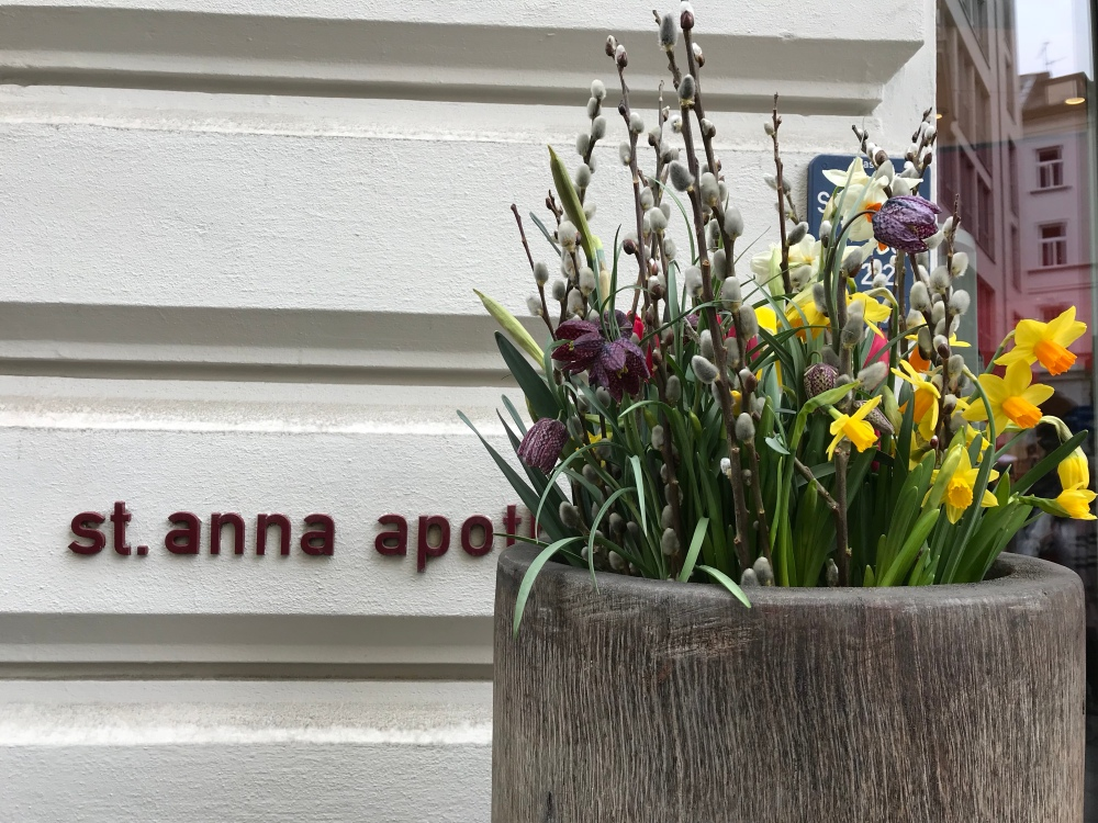 Anna is a popular name here. We see it everywhere.