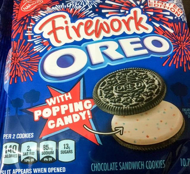 Fireworks Oreos